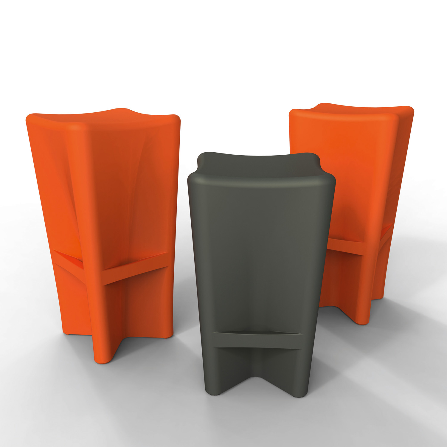 Versatile and stackable Pinch 66 and 77 bar stools from Anon & Co www.anonandco.com