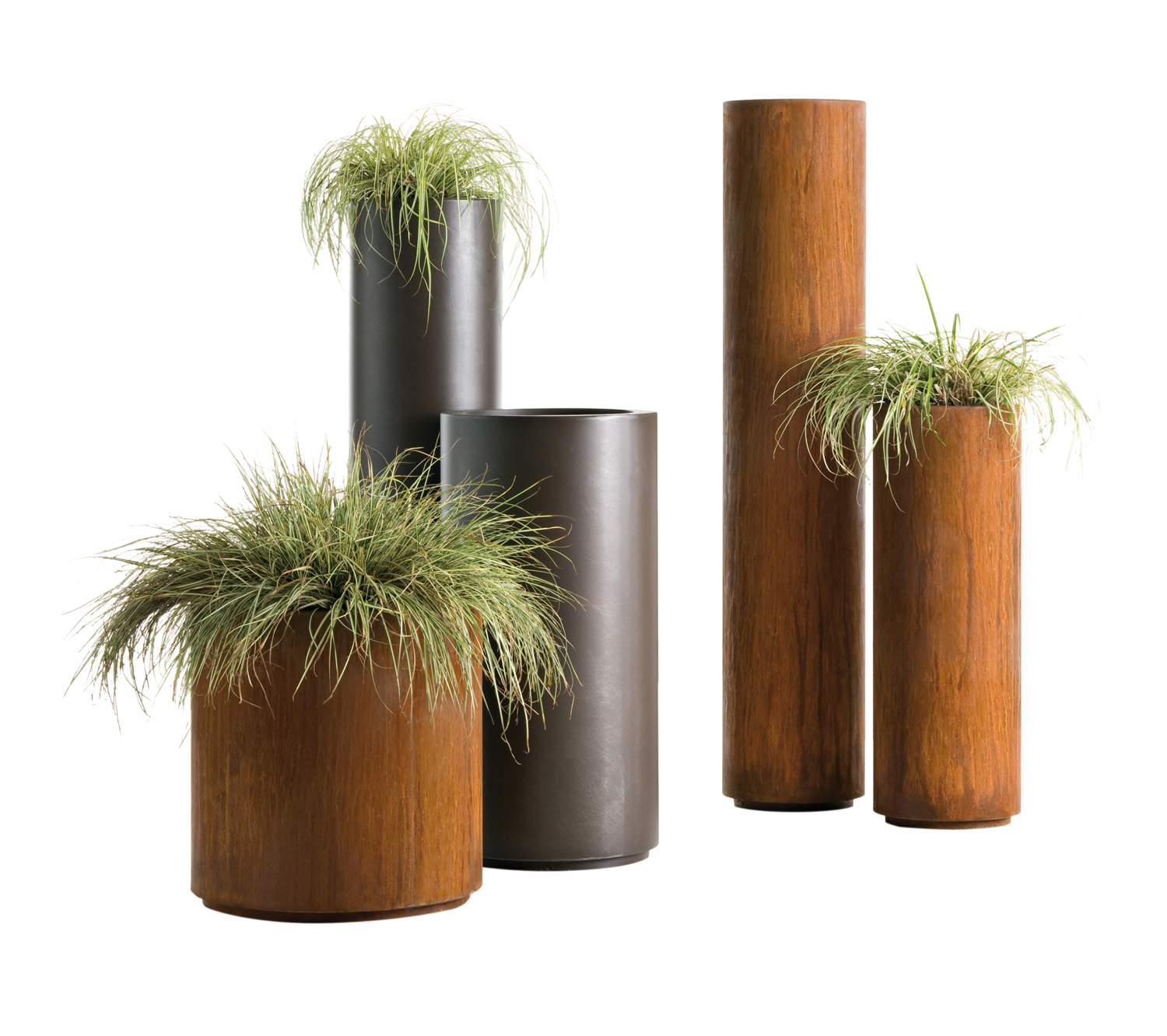 DeCastelli's Cohiba planters (in five heights) from Homeware Gallery www.hgfs.com.au