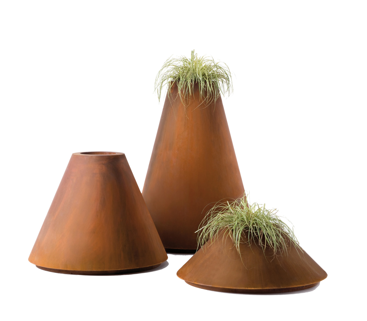 DeCastelli's Conique planters (three sizes) from Homeware Gallery www.hgfs.com.au