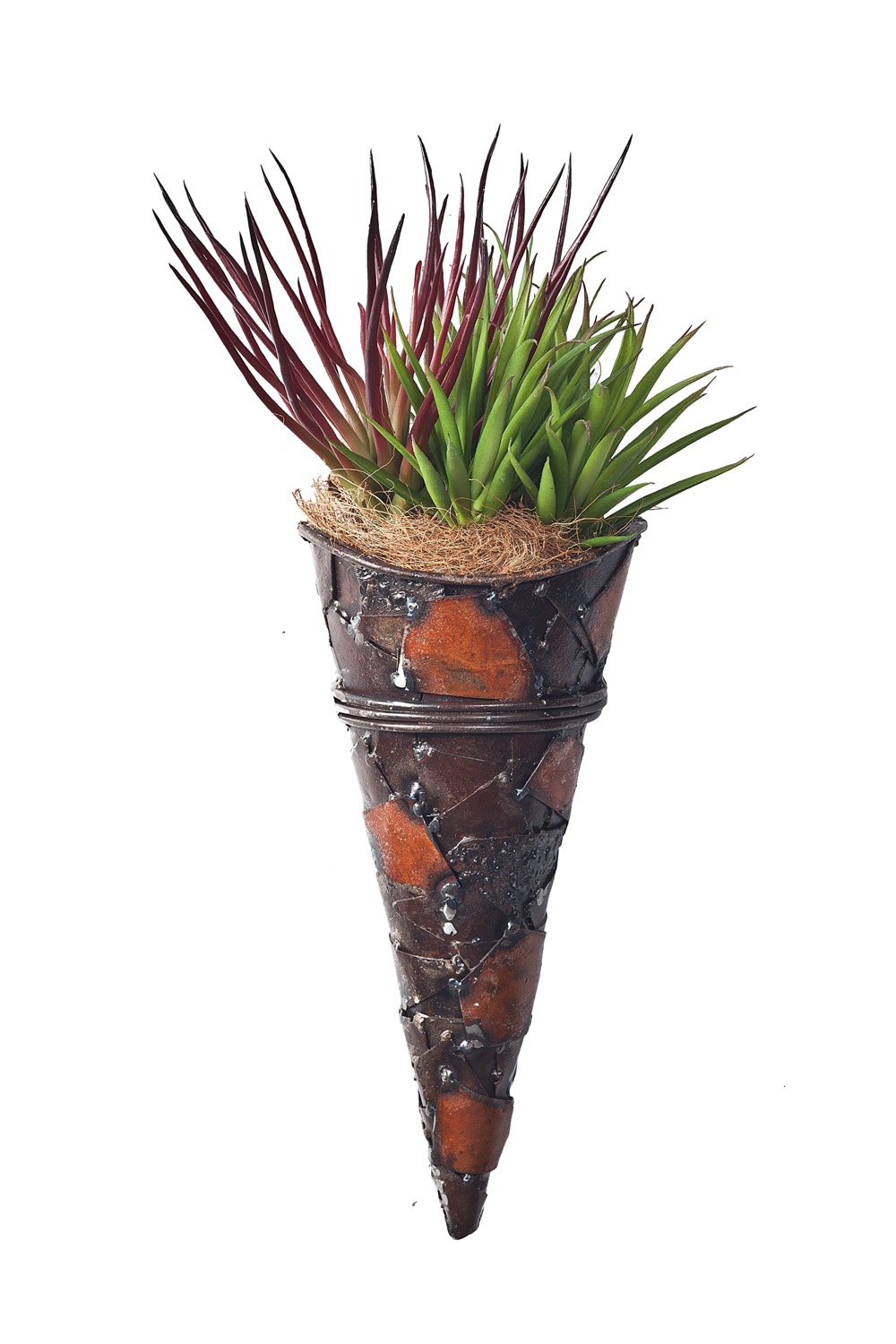 The tapered My Piece of Africa Tribal wall planter from Think Outside www.thinkoutside.biz