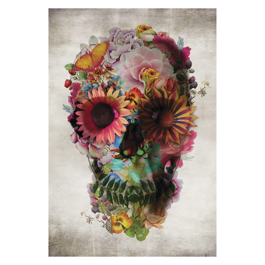 Skull Garden art print by Americanflat, $39.95, zanui.com.au