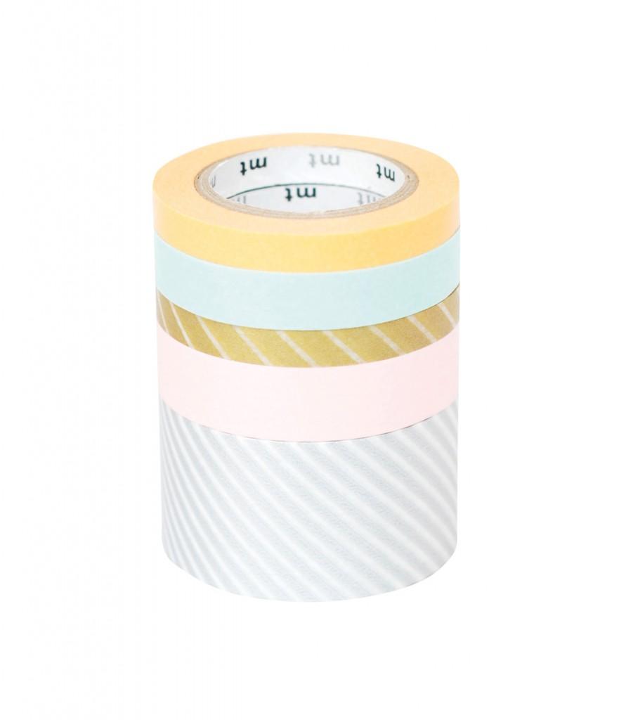 Washi tape five pack, $21.50, lightly.com.au