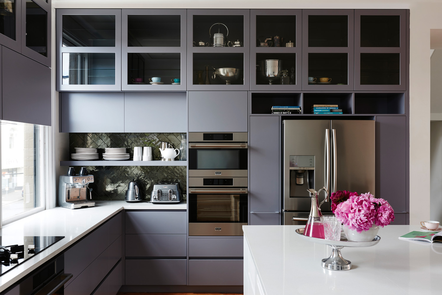A glorious contemporary kitchen