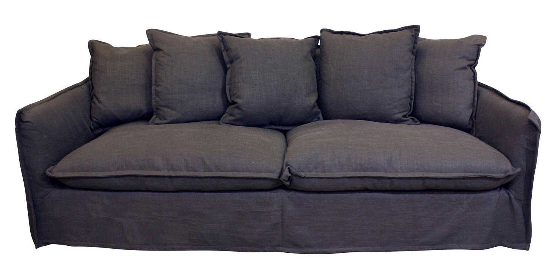 Mocca Orlando three-seater sofa, orsonandblake.com.au