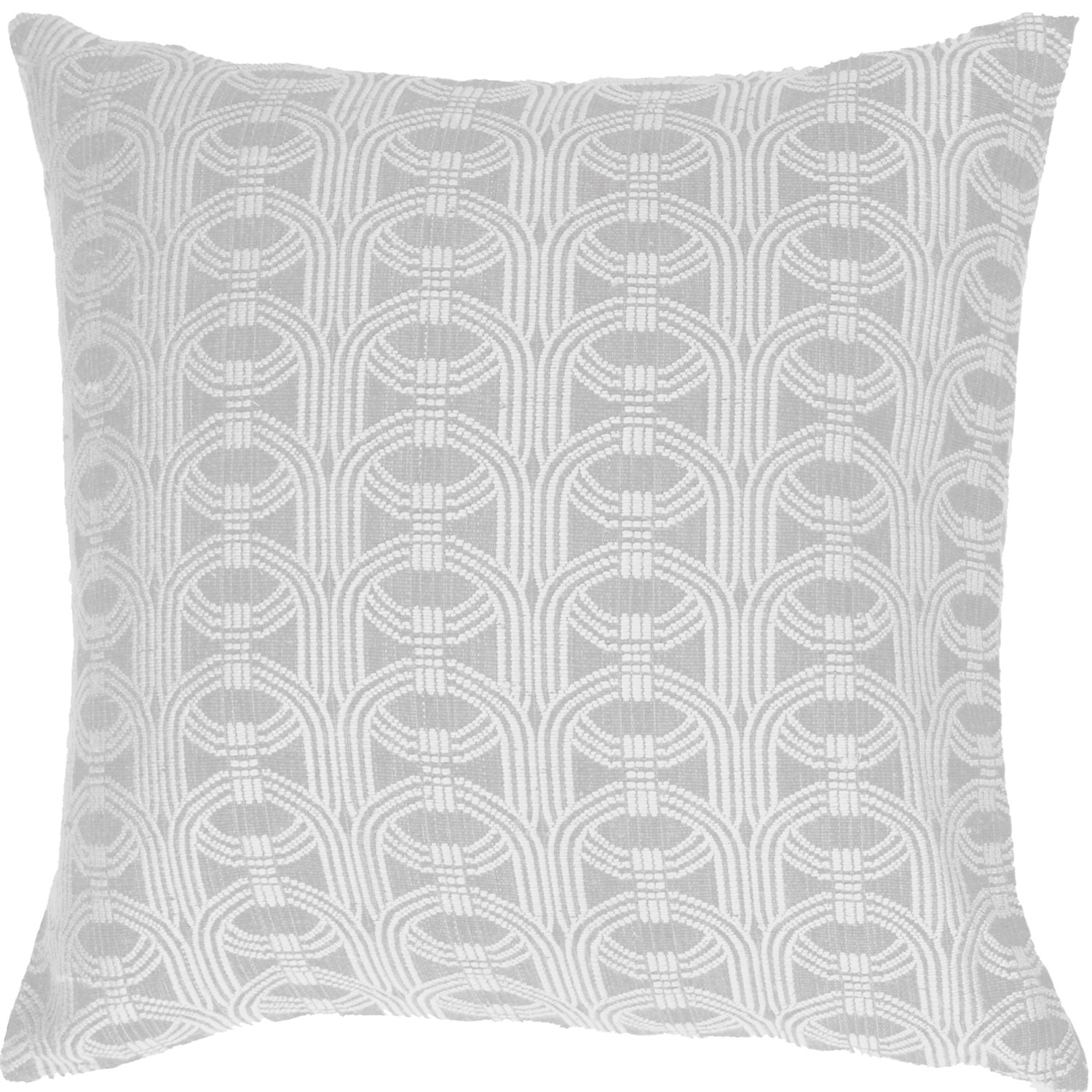 Barrel-weave Ice Euro cushion, bandhini.com.au