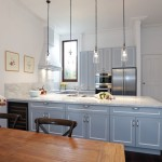 A compact, classic kitchen design