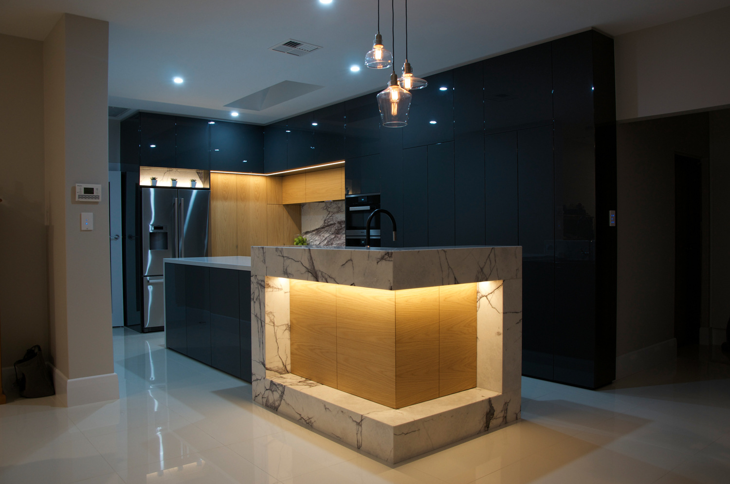 Proud and powerful: kitchen design