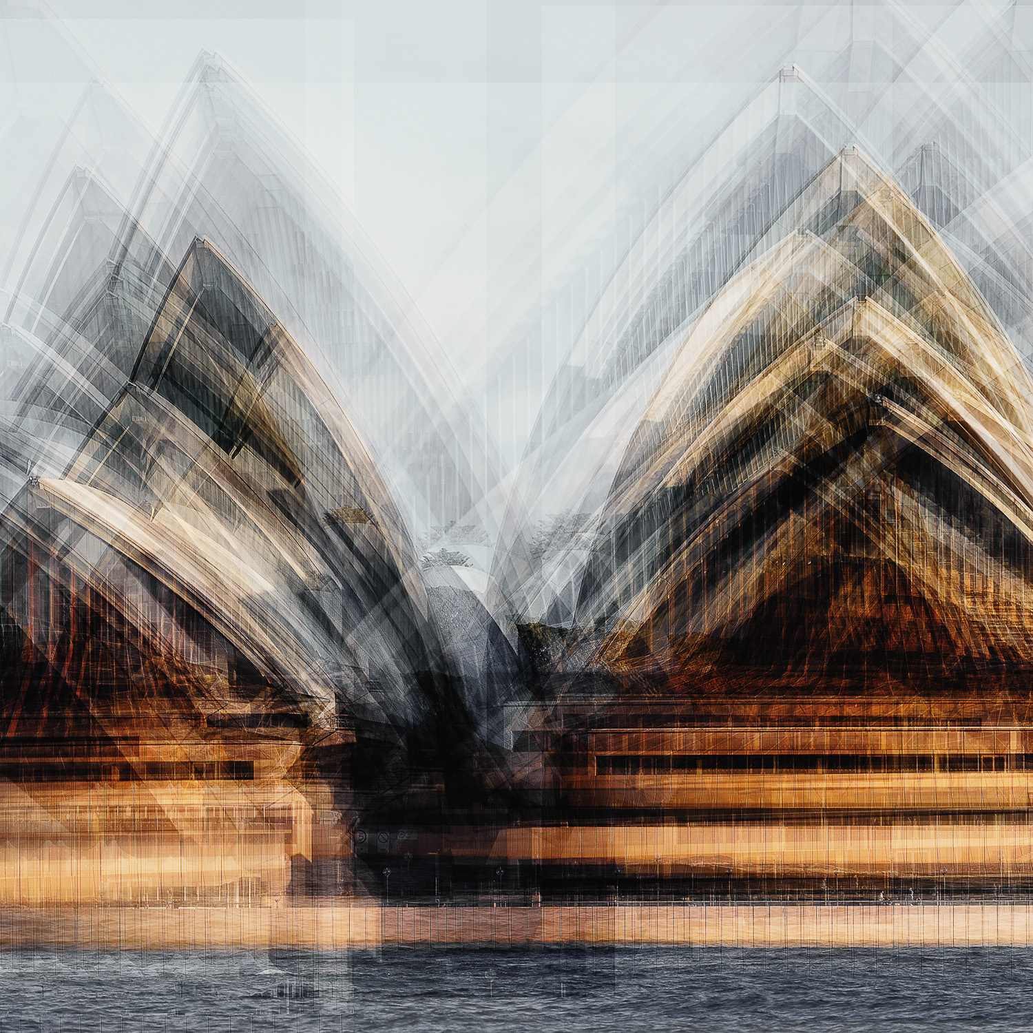 LaurentDequick-SailsOnTheHarbour CMYK