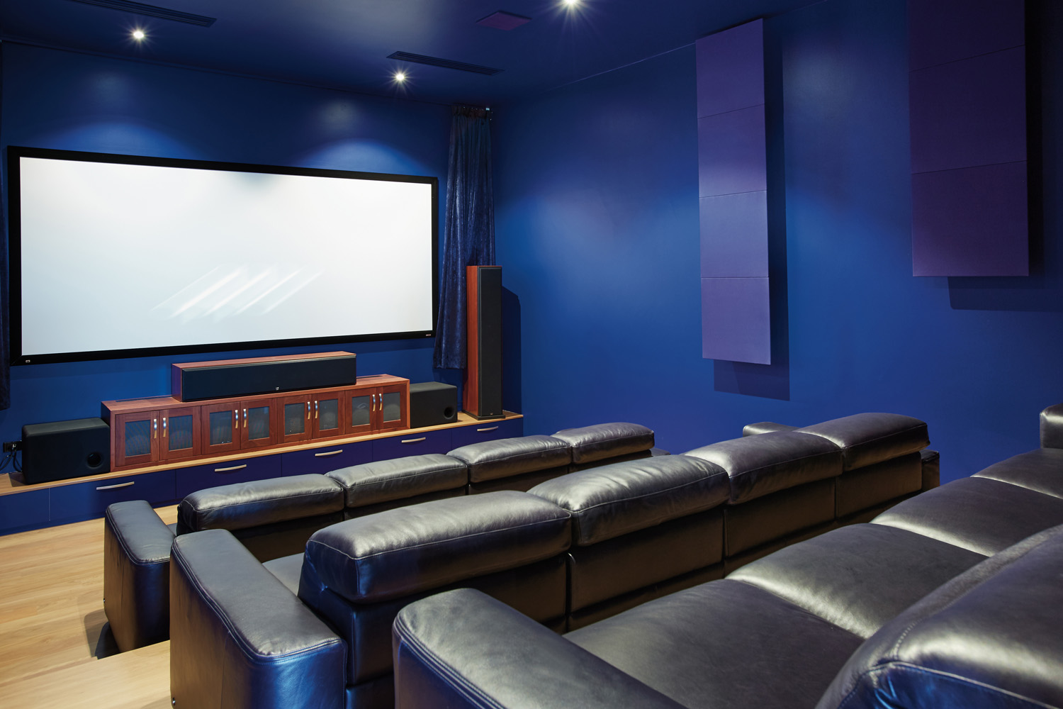 There's no need to go to the movies when you've got a cinema in your own home