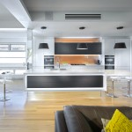 Floating world: kitchen design