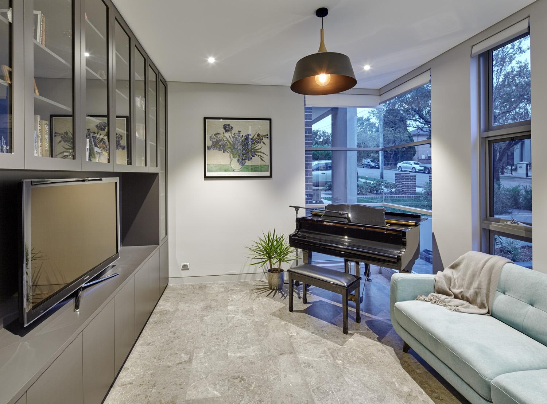 Contemporary home: Star player
