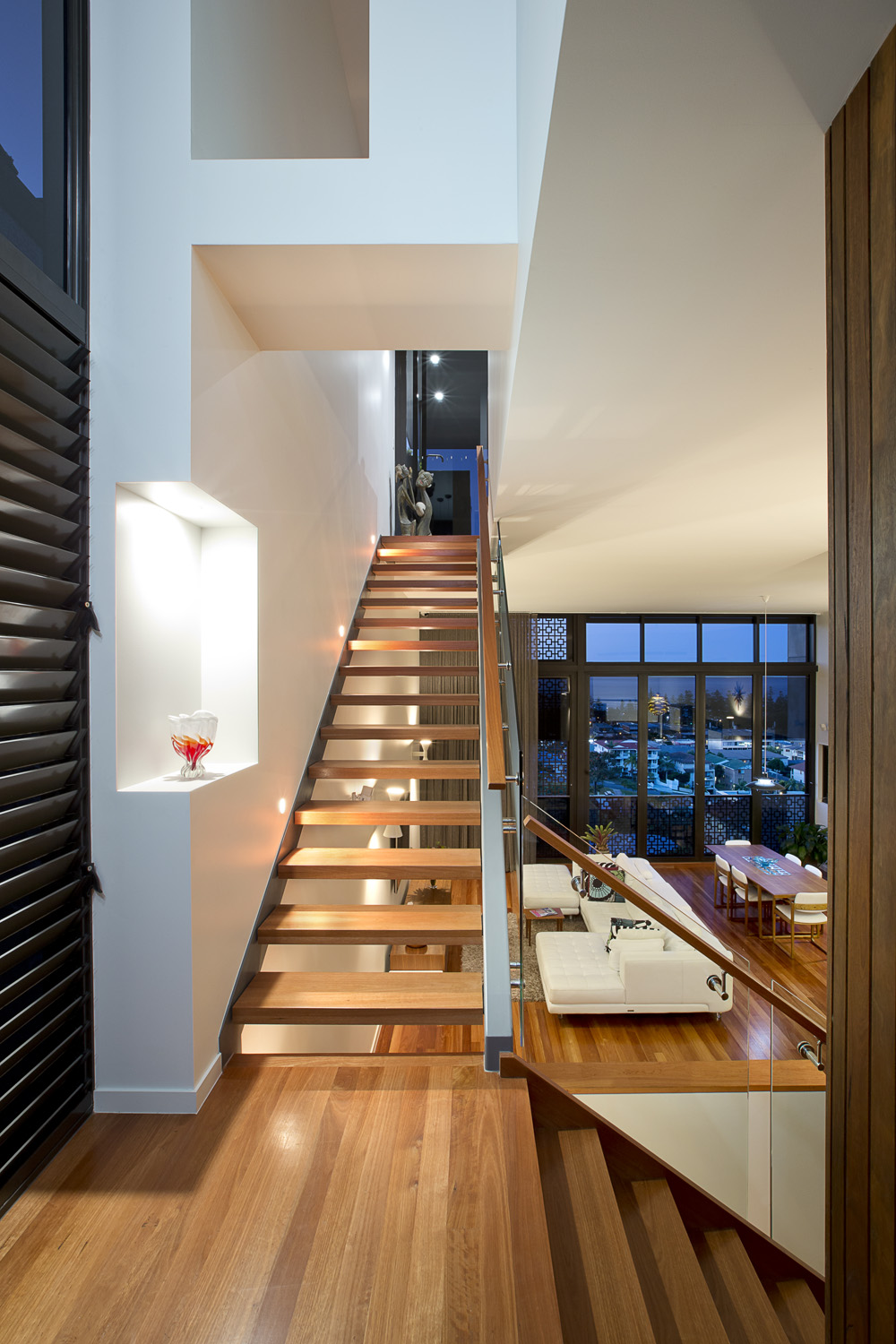 """""""You feel like you  are in the penthouse of a luxury, high-rise apartment""""  – Mark Jamison"""