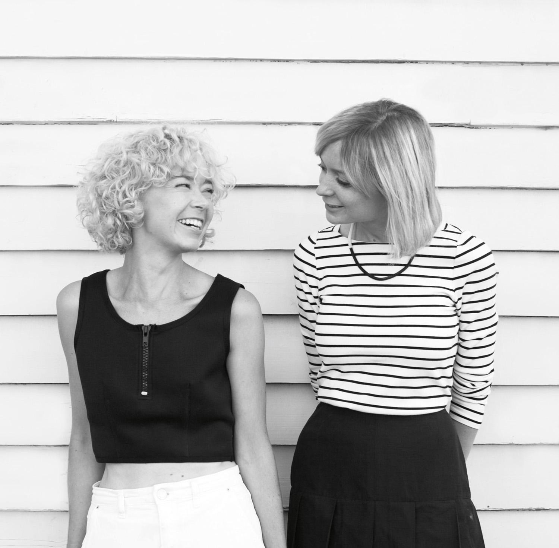 1_Studio_Twocan_Portrait_Maddie Sharrock (Left) and Rebecca Sharrock