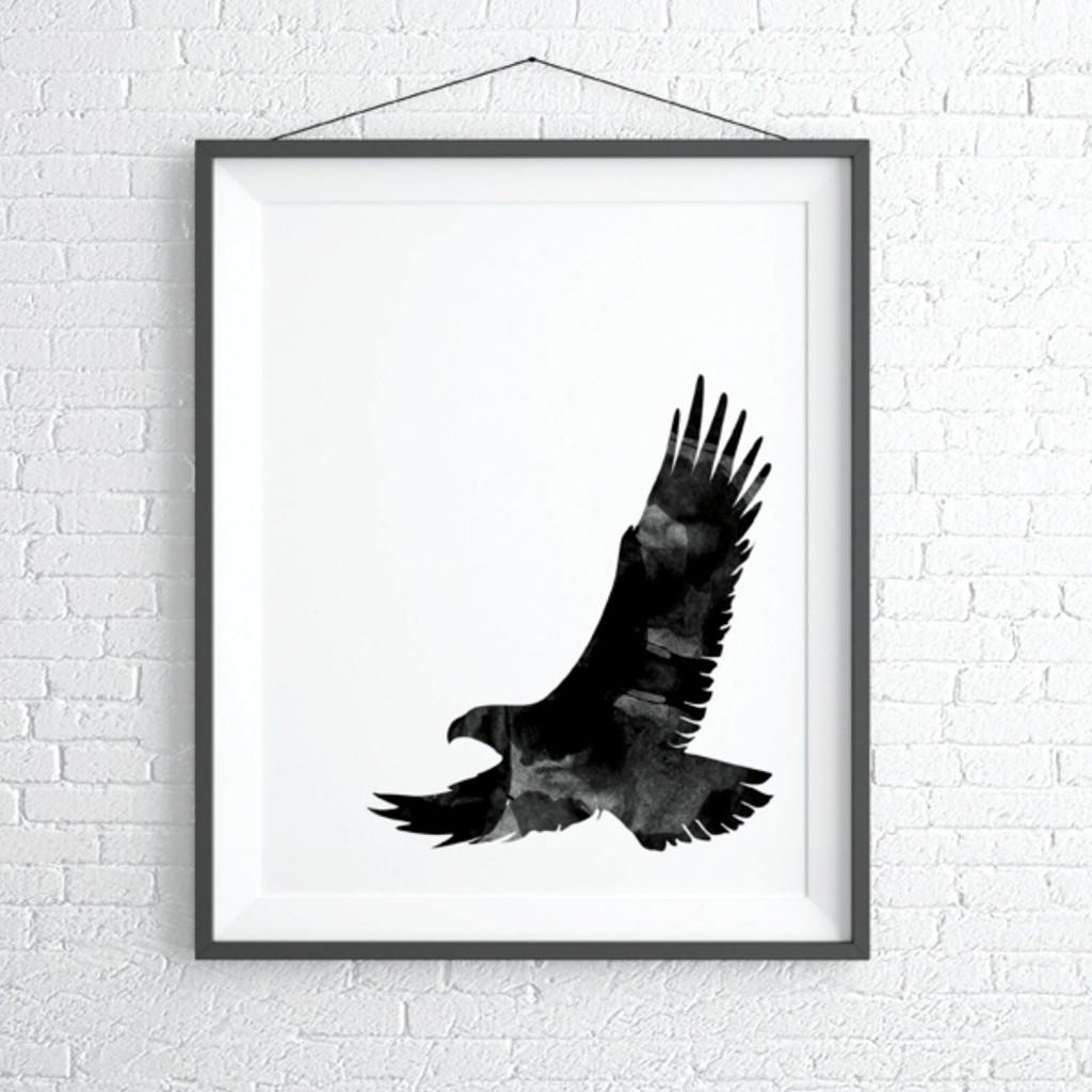 Soaring eagle print