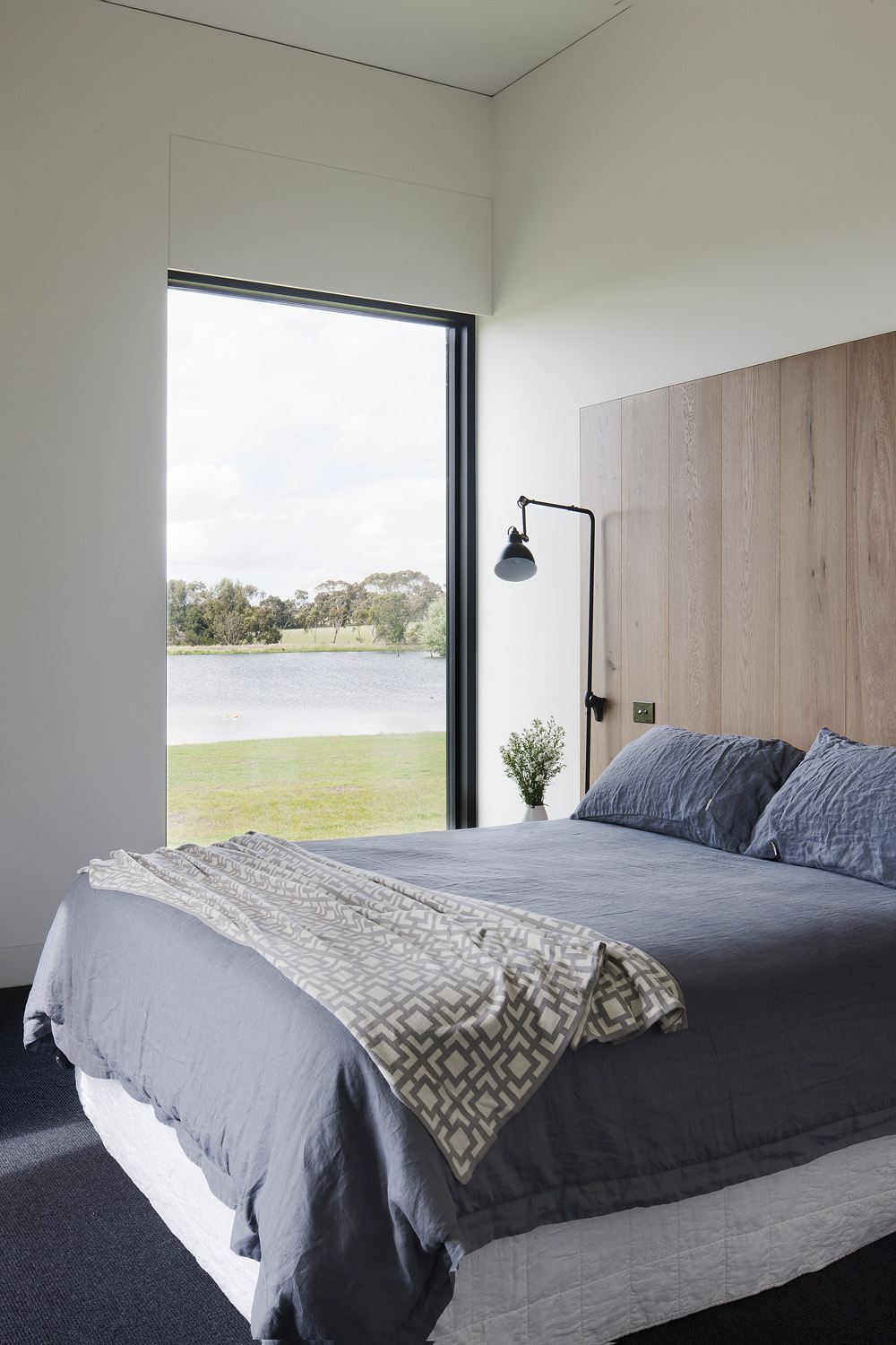 Linen is an eco-luxe must-have in the bedroom