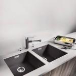 Sleek and strong: sink range