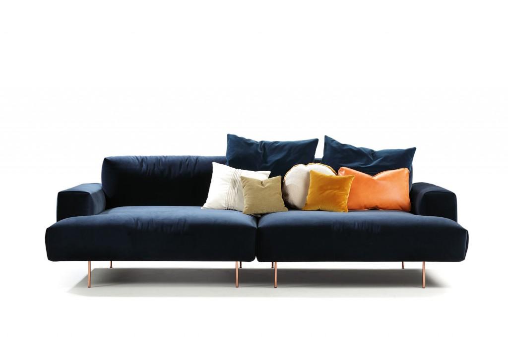 TipToe sofa by Sancal, $8140, kezu.com.au