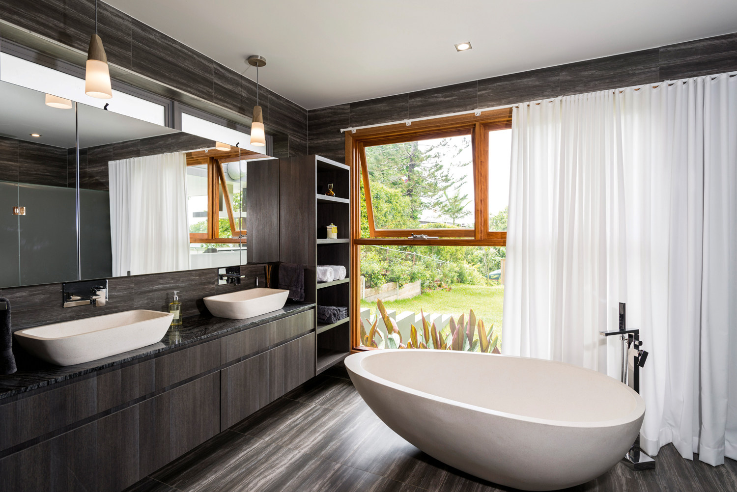 Touch Of Luxury Clean Bathroom Design Completehome