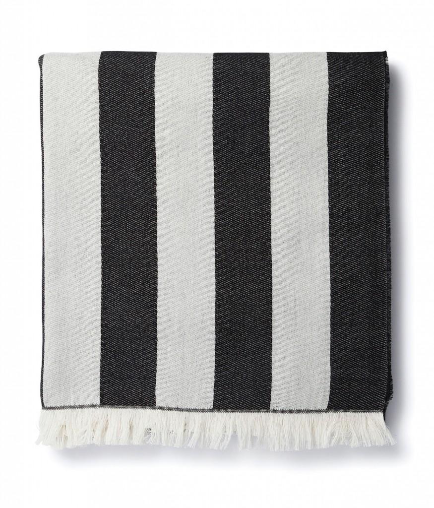 Korsi cotton jacquard blanket, $239, marimekko.com