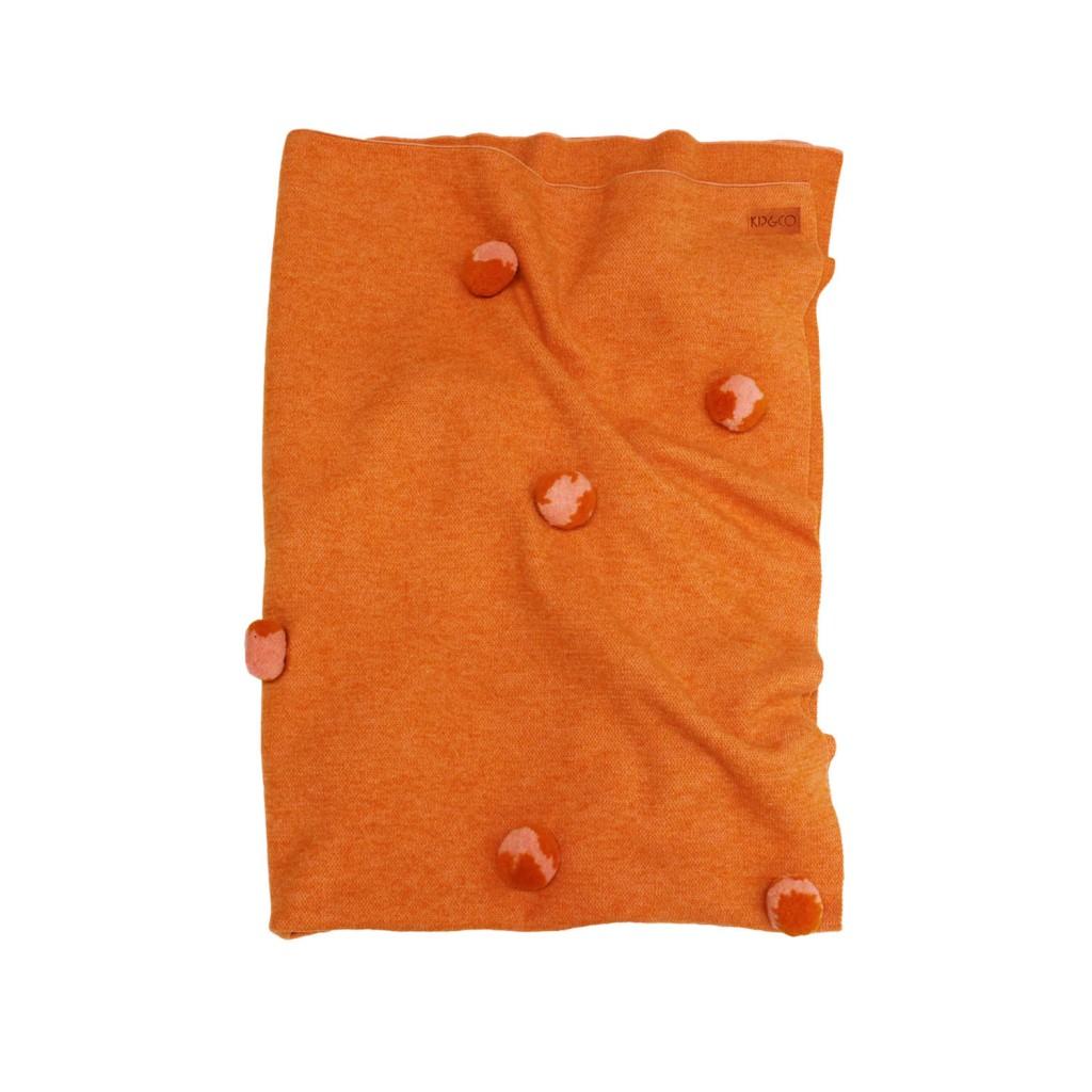 Merino wool Pom Pom blanket, $249, kipandco.net.au