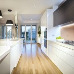 A smooth kitchen design