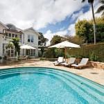 Modern style: an innovative pool design