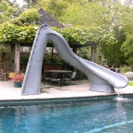 Poolside play: a look at a family fun slide