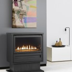 Classic styling: gas log fire