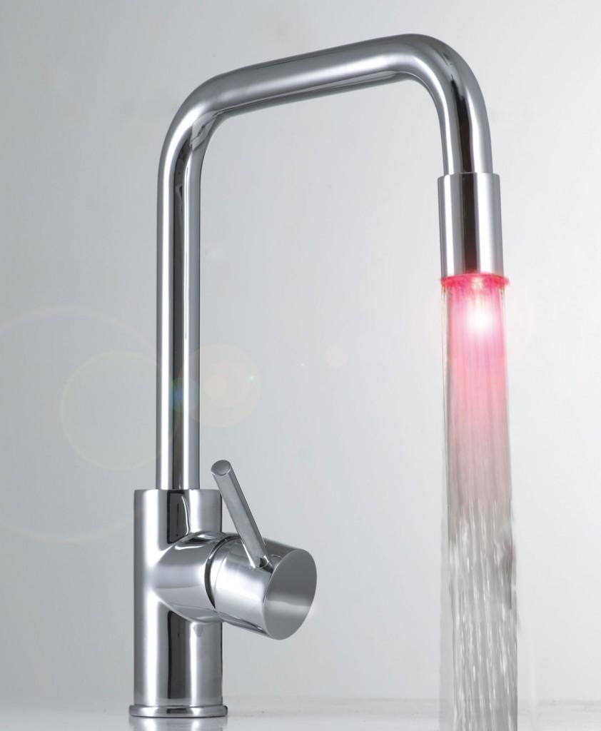 Clever Colori Aqua tapware from Smeg
