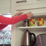 Uncluttering the kitchen with your cupboard