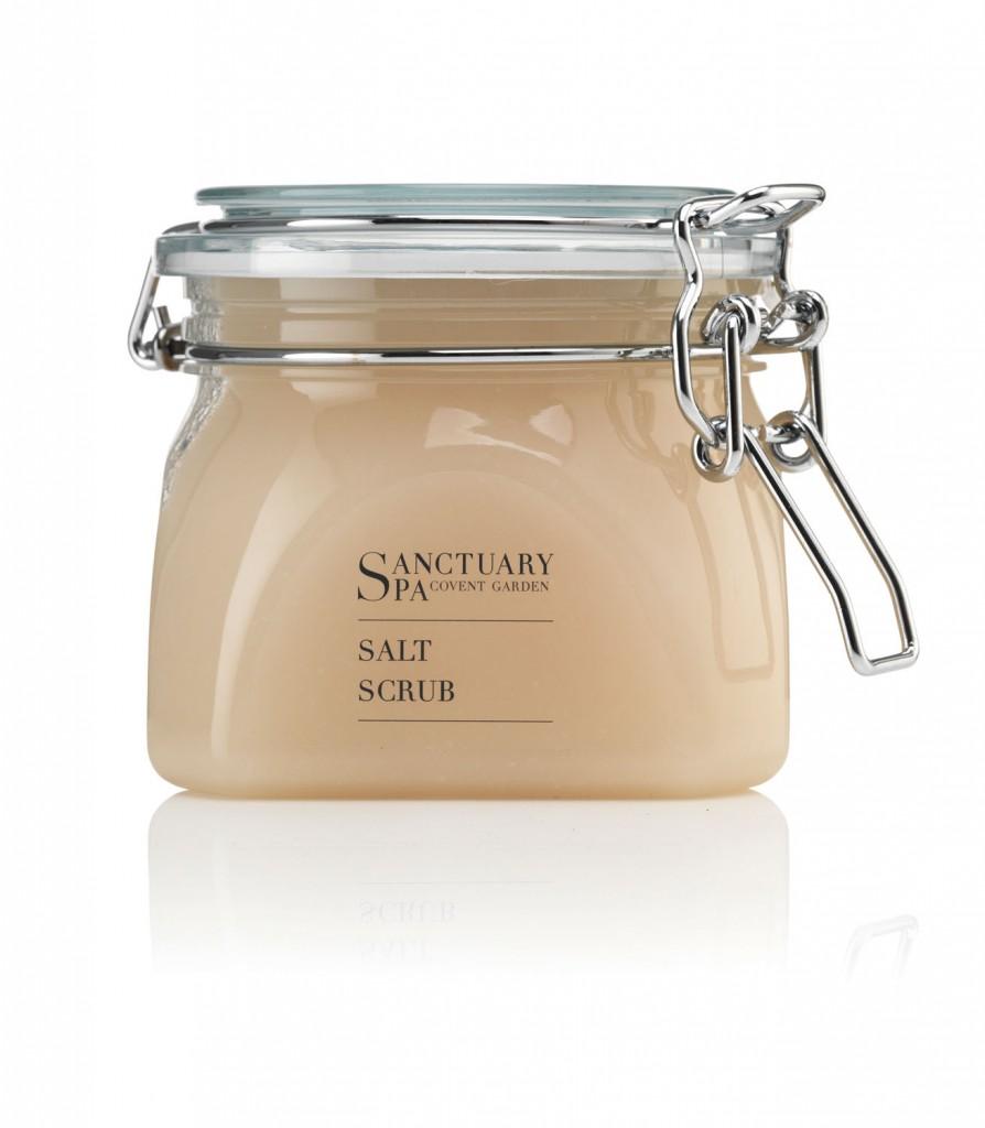 Sanctuary Spa Ultimate Salt Scrub, $19.95, sanctuaryaustralia.com.au