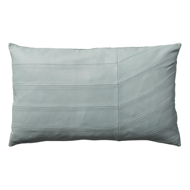 Coria leather cushion, residentgp.com.au