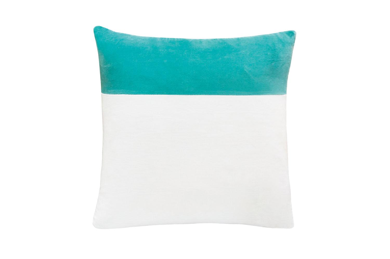 Blue Swatch velvet cushion cover, castleandthings.com.au