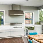 Bright and light: clean kitchen design