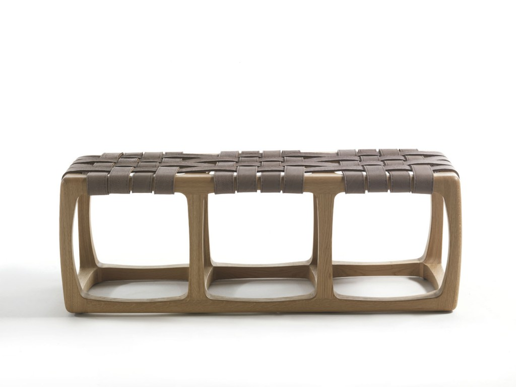 Bungalow bench by Jamie Durie for Riva 1920, fanuli.com.au