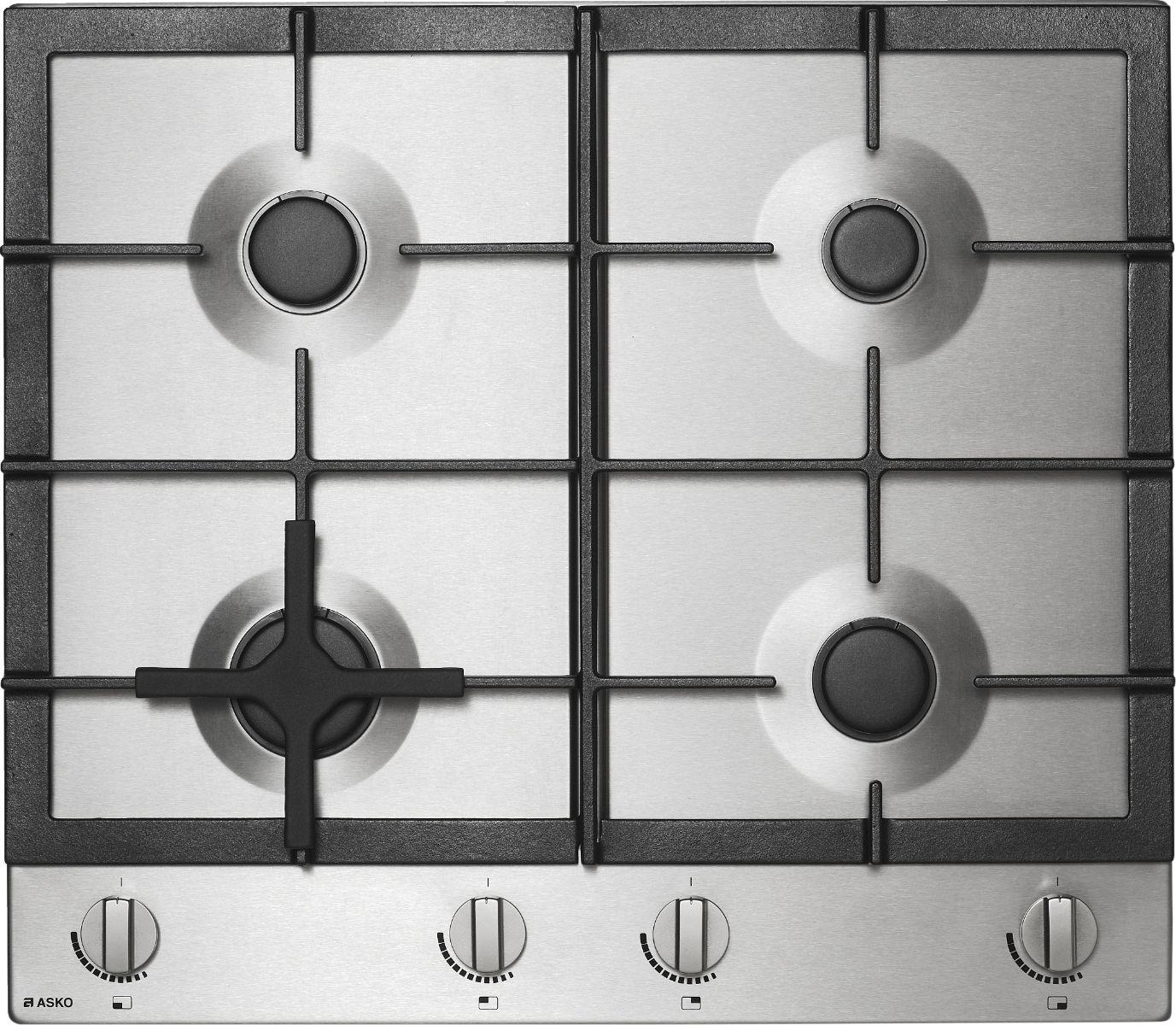 Sleek and stylish: gas cooktop range
