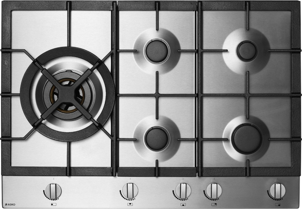 Sleek and stylish: gas cooktop range