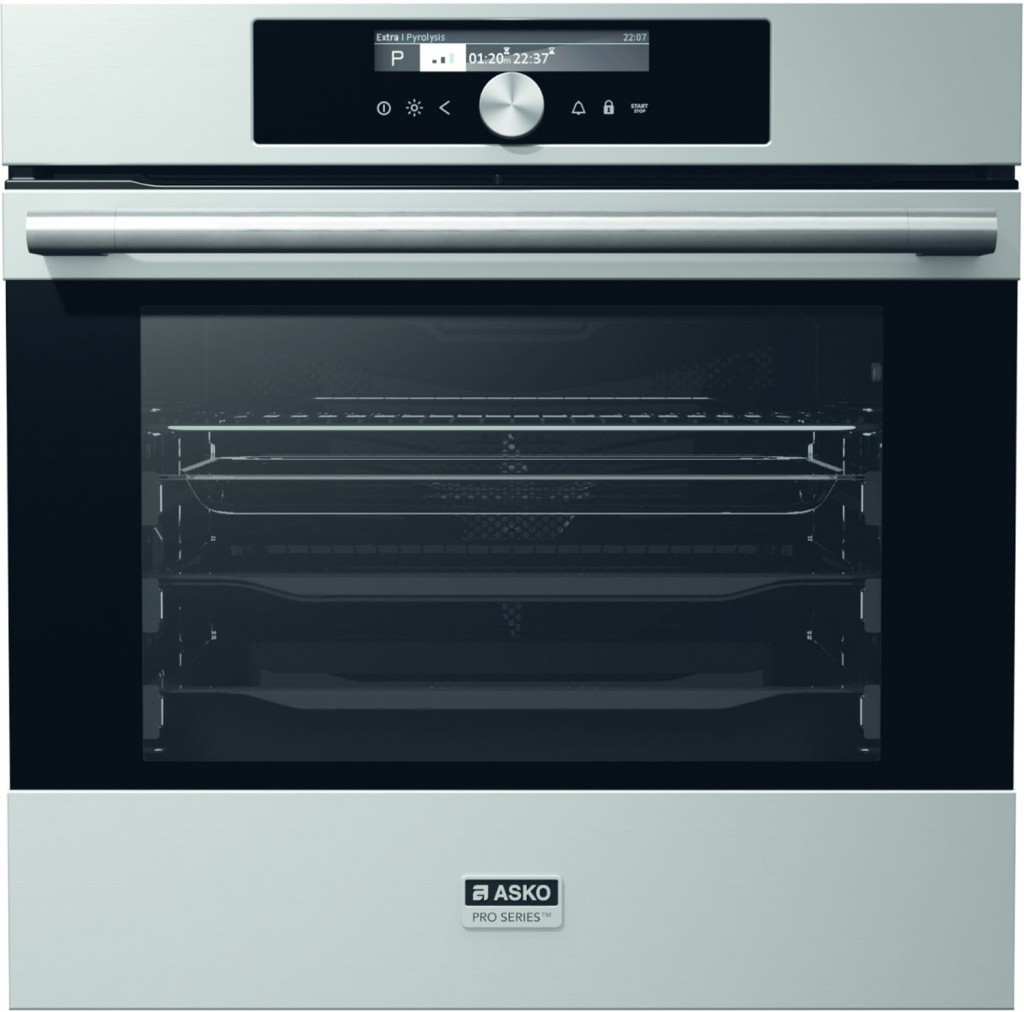 Minimum effort, maximum result: self-cleaning oven range