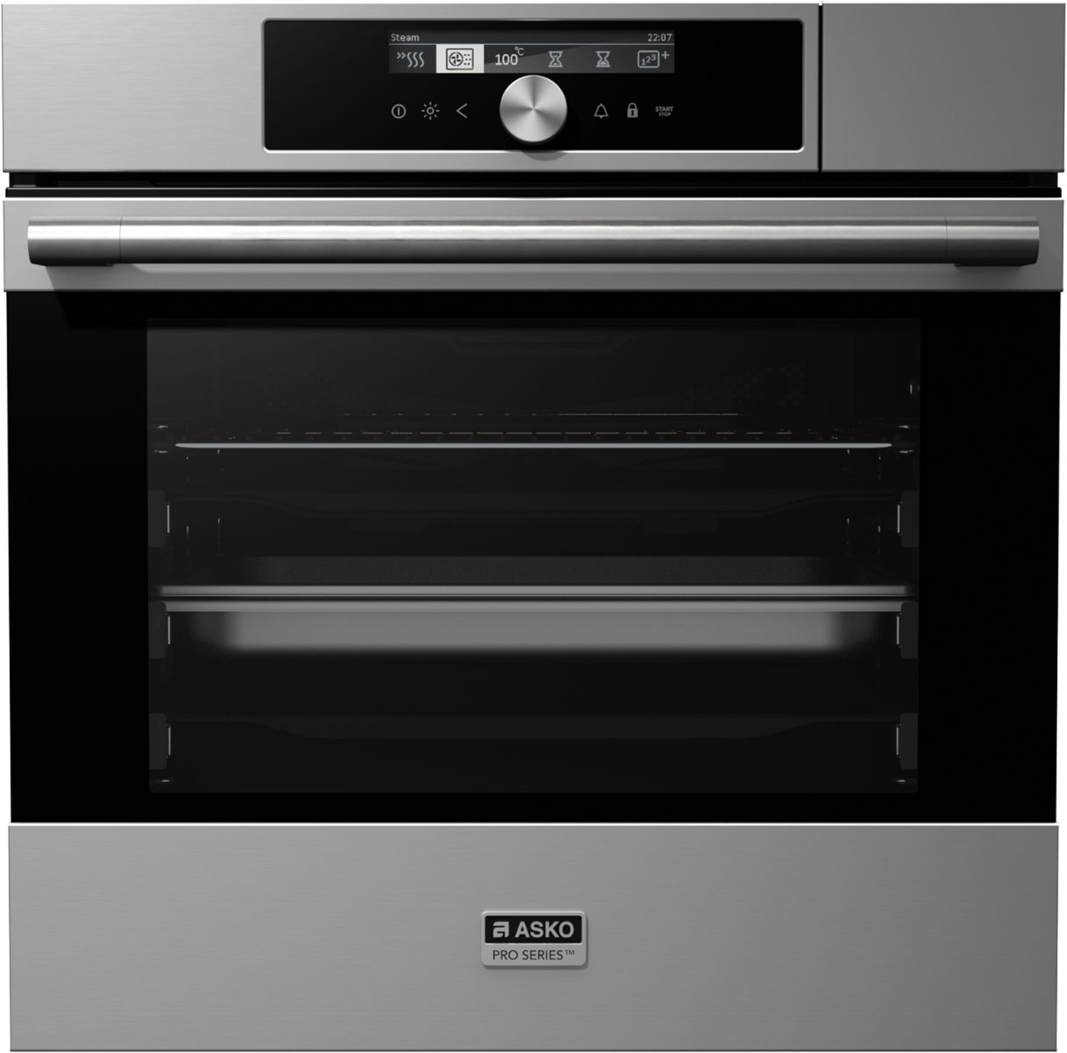 Stylish steam assist ovens