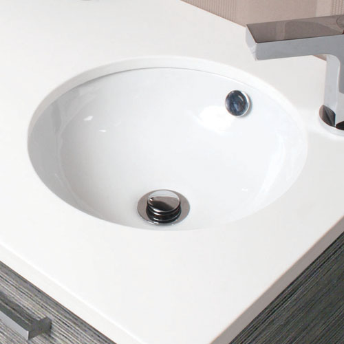 Beautiful basins for your bathroom: under-mount range