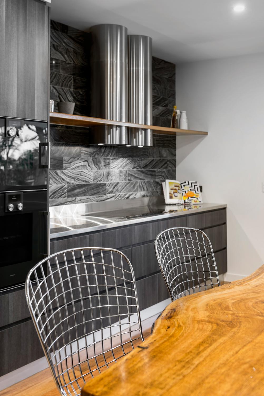 Industrial twist: raw kitchen