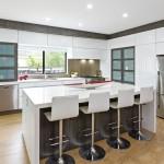 Modern minimalism: kitchen design