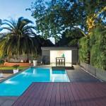 Modern elegance: pool and spa design