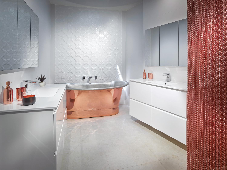 Practical luxury: bathroom design