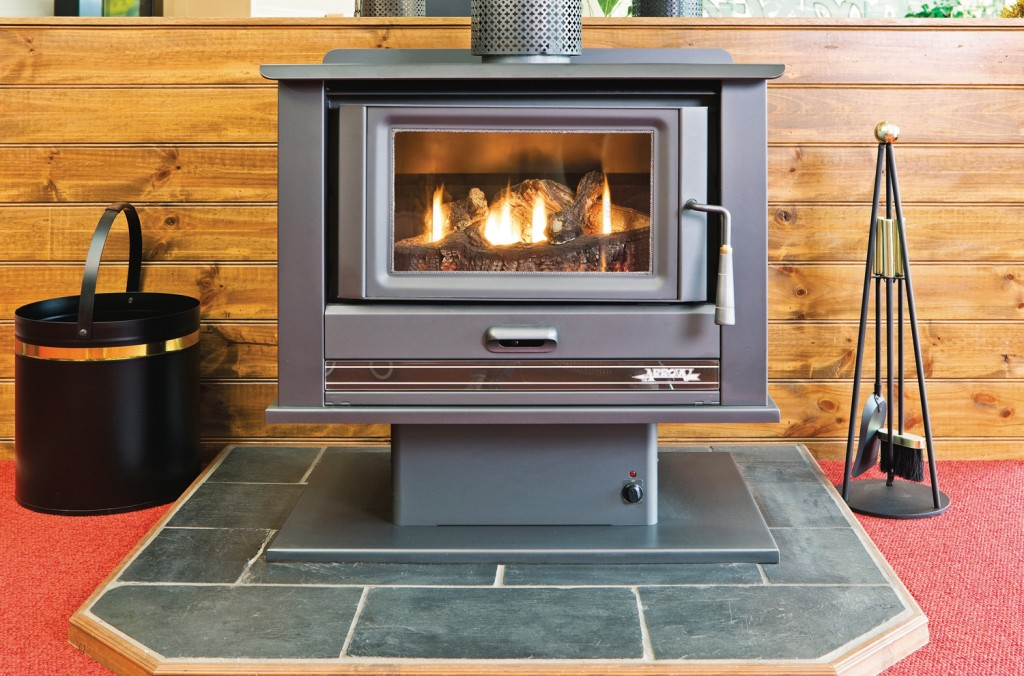 arrow freestanding wood charcoal