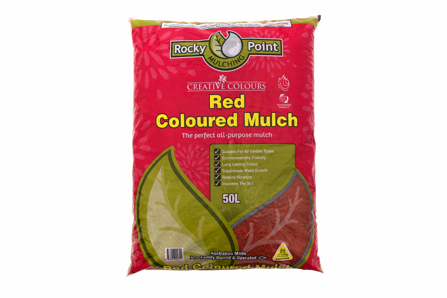 Creative colours: mulch for your garden
