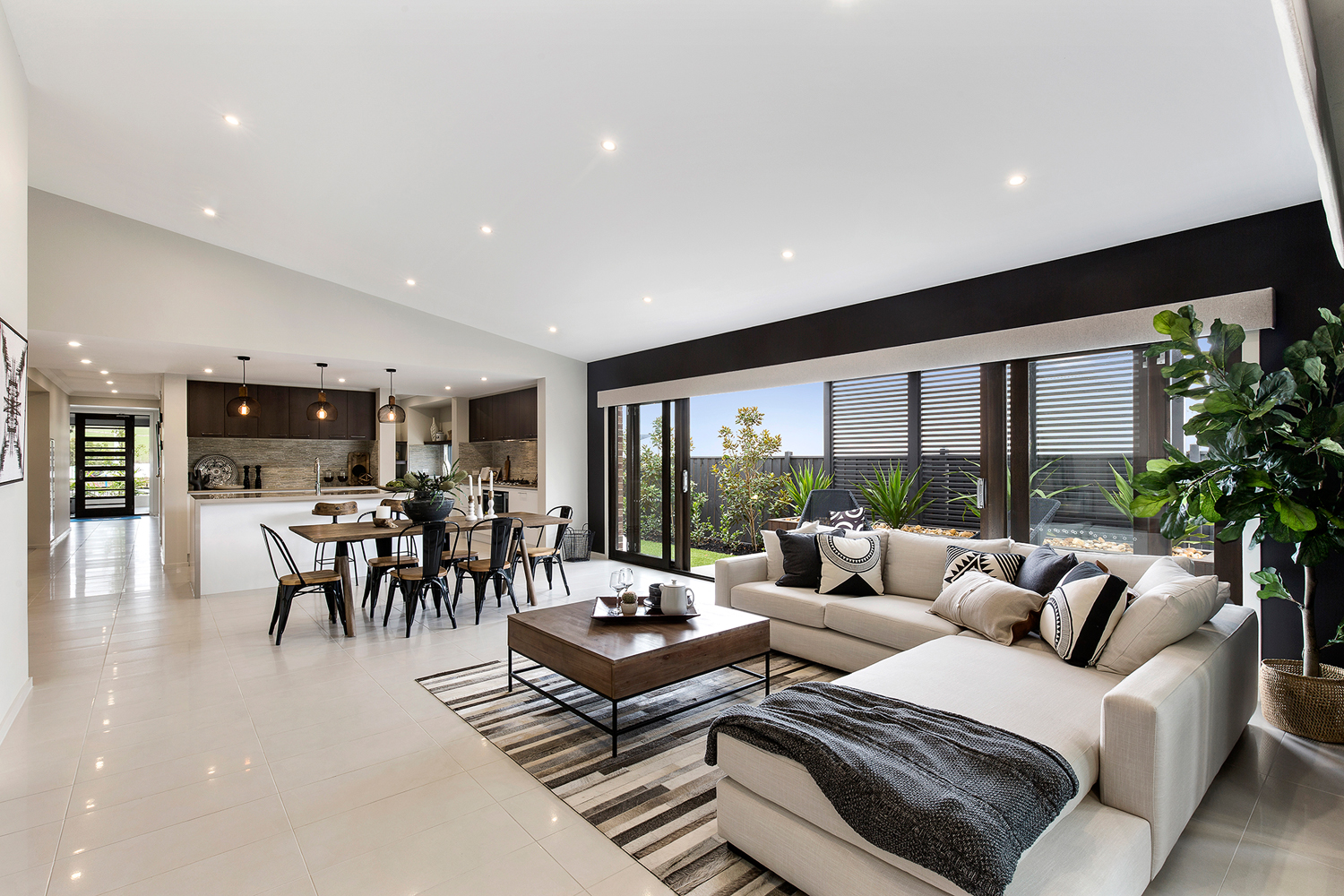 Contemporary home design family favourite completehome for Metricon homes interior design