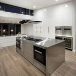 Industrial chic: kitchen design