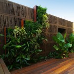 Spacious and stylish: vertical wall garden