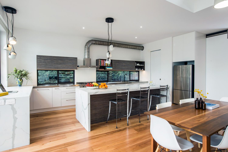 Luxe industrial kitchen